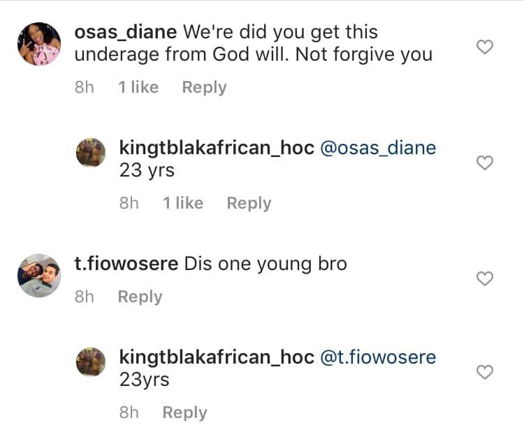 Nigerian porn star, Kingtblakhoc defends himself after being accused of using an underage girl for his porn movie lindaikejisblog 5