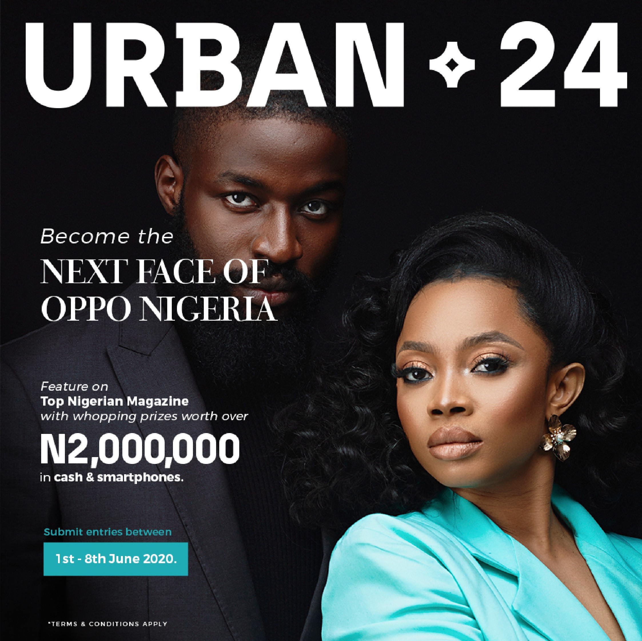 Become The Next Nigerian Top Model in The OPPO Reno3 Urban24 Contest lindaikejisblog3