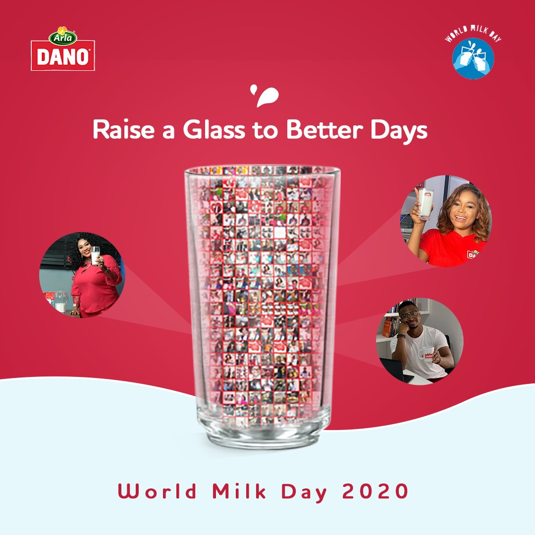 Dano Milky Cheers A celebration of milk and better days