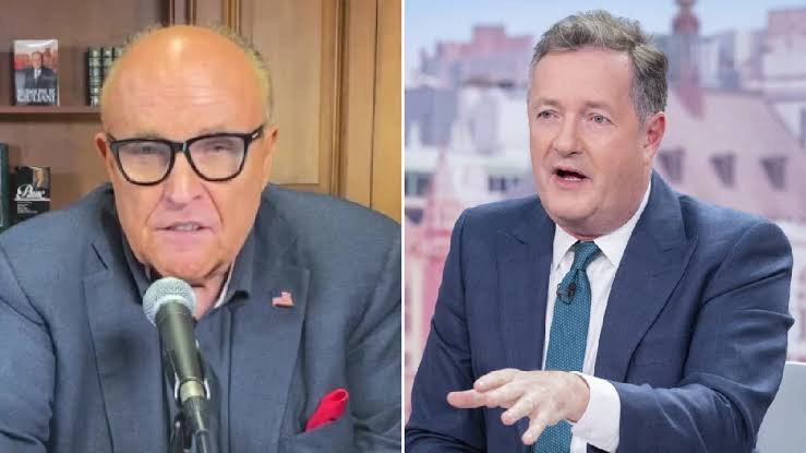 'You've gone completely mad' 'You're a failed journalist' – Watch Piers Morgan and Trump's lawyer Rudy Guliani blast each other on live TV broadcast (video), All9ja