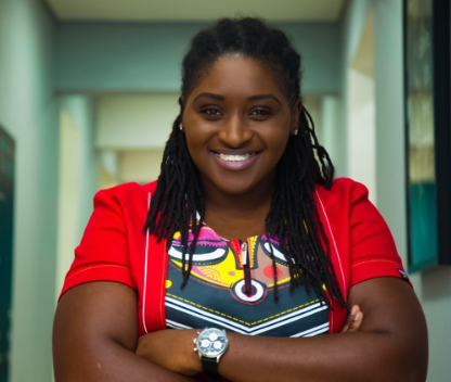 """""""You can't oppose and support oppression at the same time"""" LGBTQ activist, Pamela Adie tackles those who support Blacklivesmatter campaign and also support oppression of gays, All9ja"""