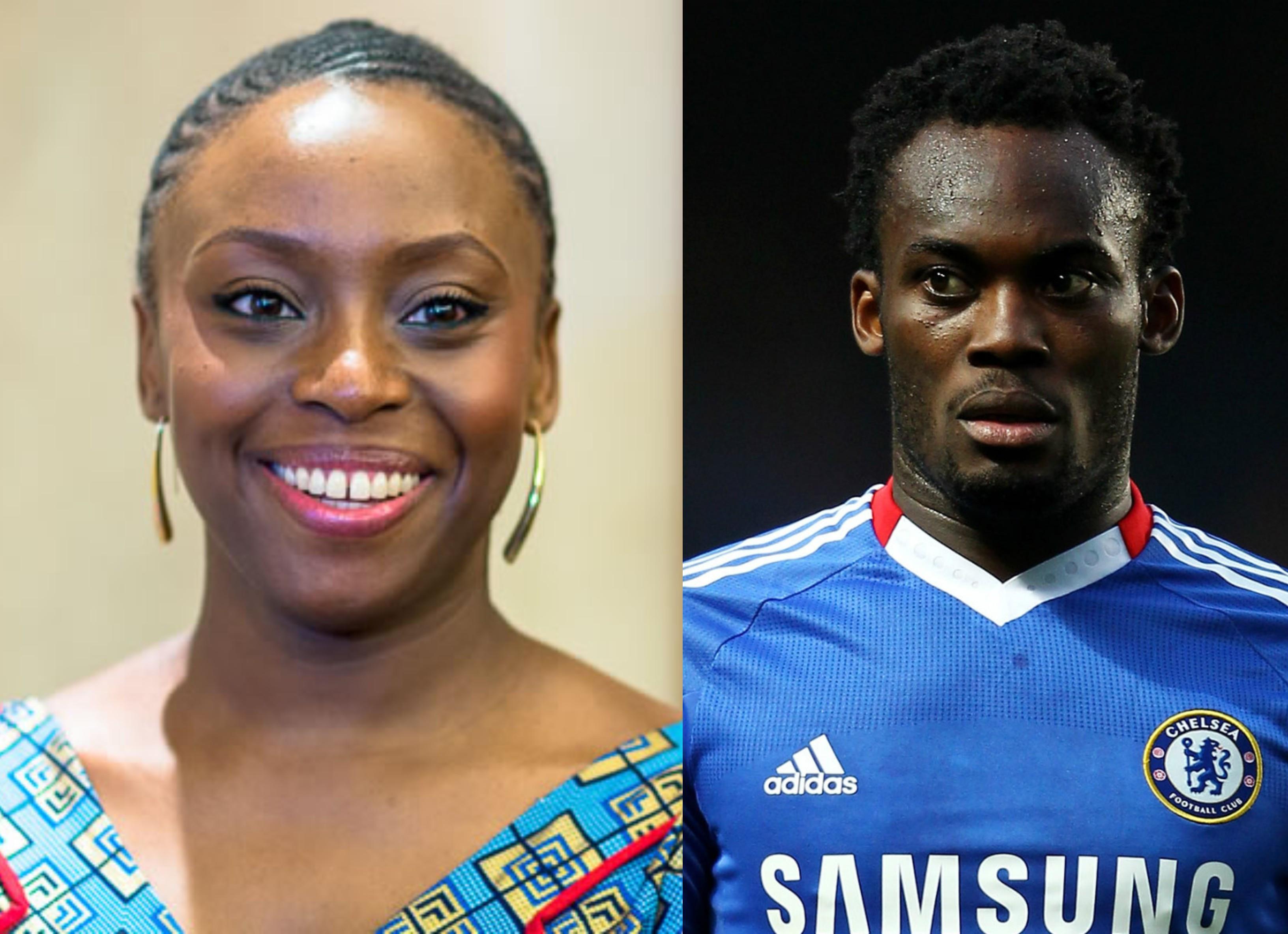 I once had a crush on Michael Essien - Chimamanda Adichie lindaikejisblog