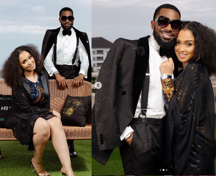 'You are the best and have been nothing but a blessing' - D'banj praises wife Didi Lineo as he shares beautiful photos of them