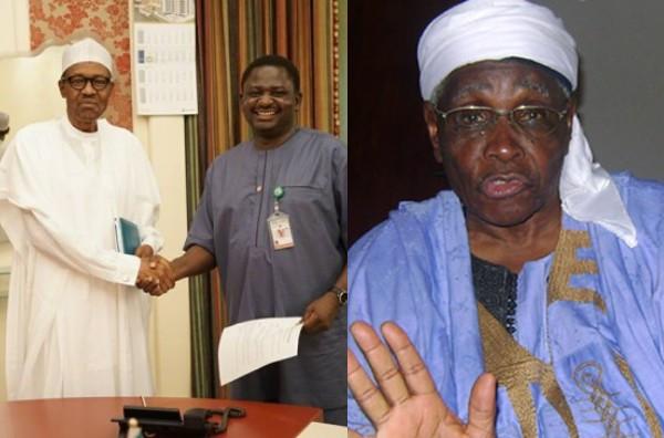 You are a mere irritant  Femi Adesina blasts Ango Abdullahi for saying President Buhari has failed the North lindaikejisblog