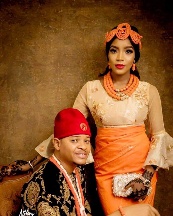 , If I'm doing it again, it has to be you — MC Tagwaye pens down love post to Buhari aide's daughter after their wedding  (photos), All9ja, All9ja