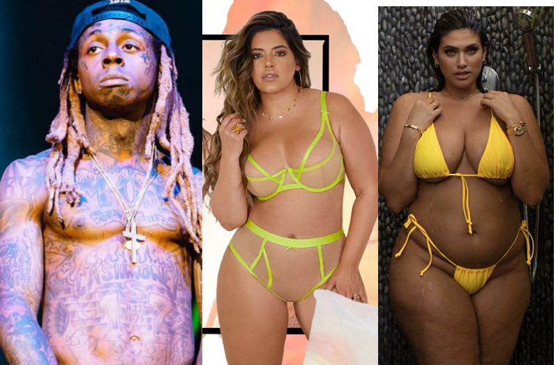 Lil Wayne moves on with another plus-size model, two months after calling off his engagement to model La'Tecia Thomas