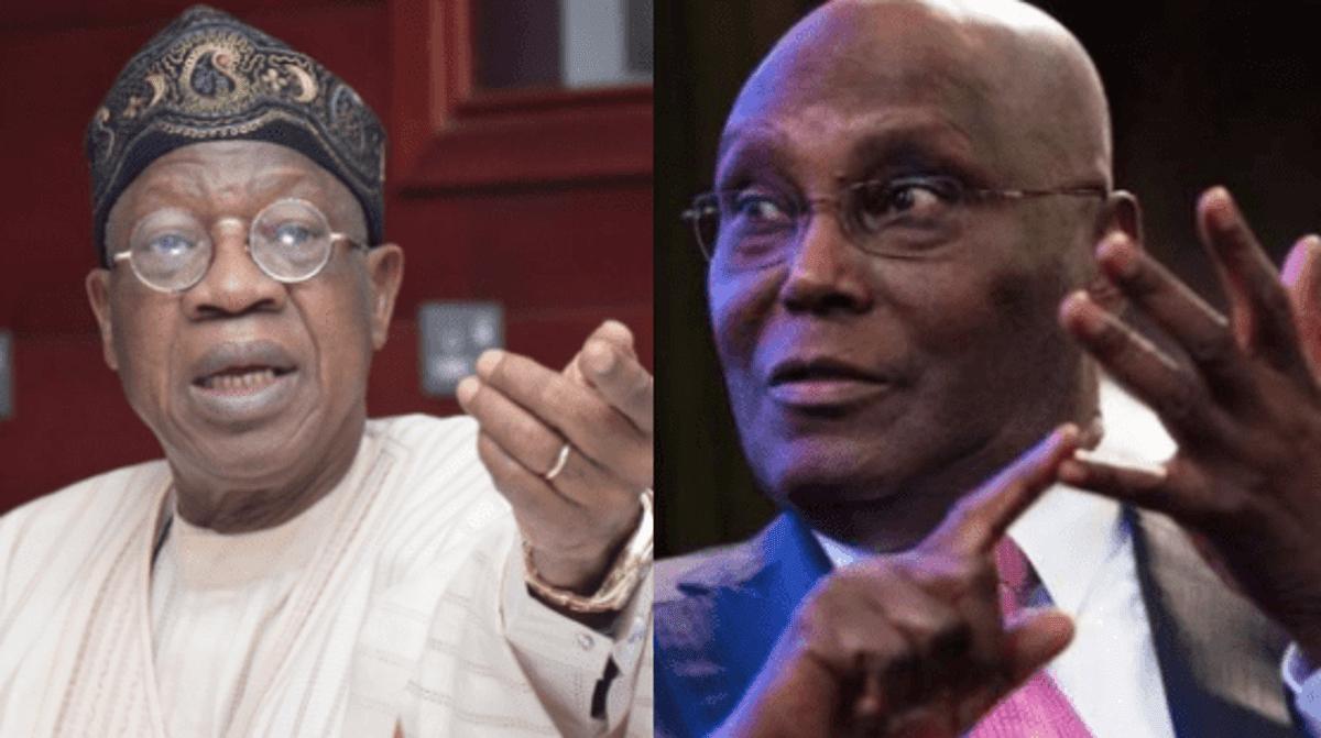 , Atiku is spreading falsehood on Nigeria's debt profile – Lai Mohammed, All9ja, All9ja