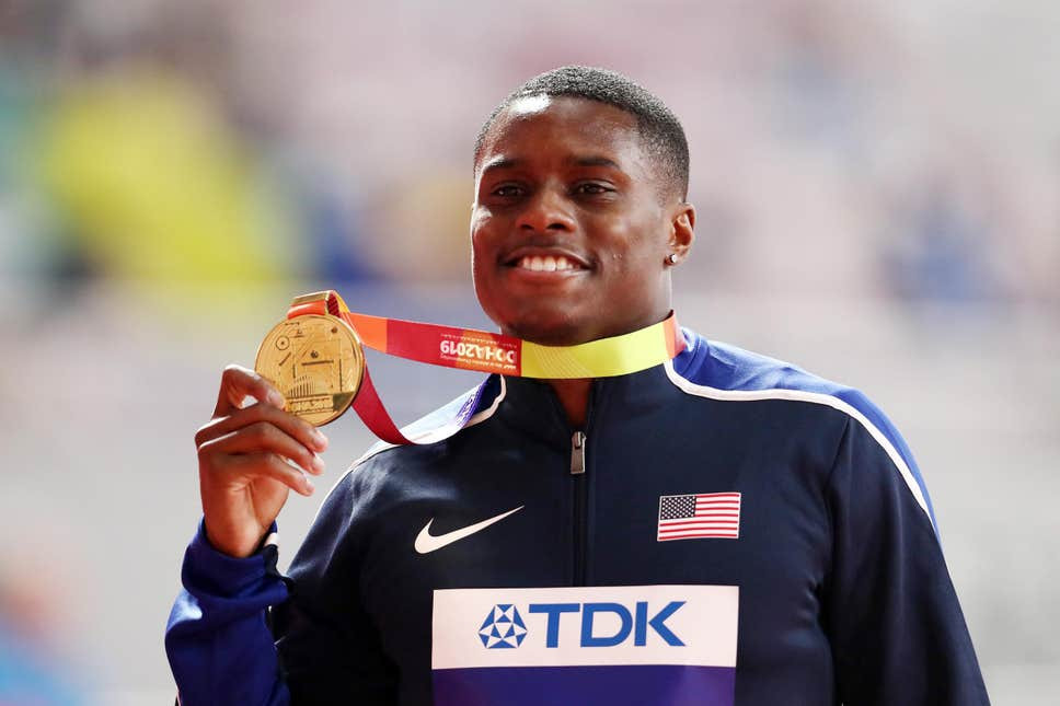 World 100m champion, Christian Coleman suspended for missing three drugs tests in a year, All9ja
