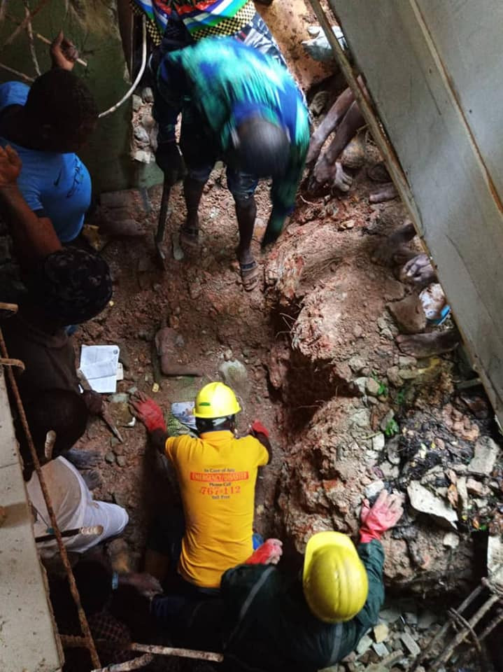 Two children die as building collapses in Lagos (photos), All9ja