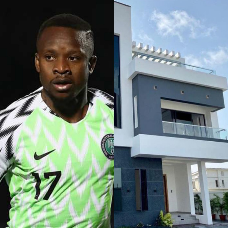 Super Eagles player Ogenyi Onazi buys multi-million naira home in Lekki (photos/video), All9ja