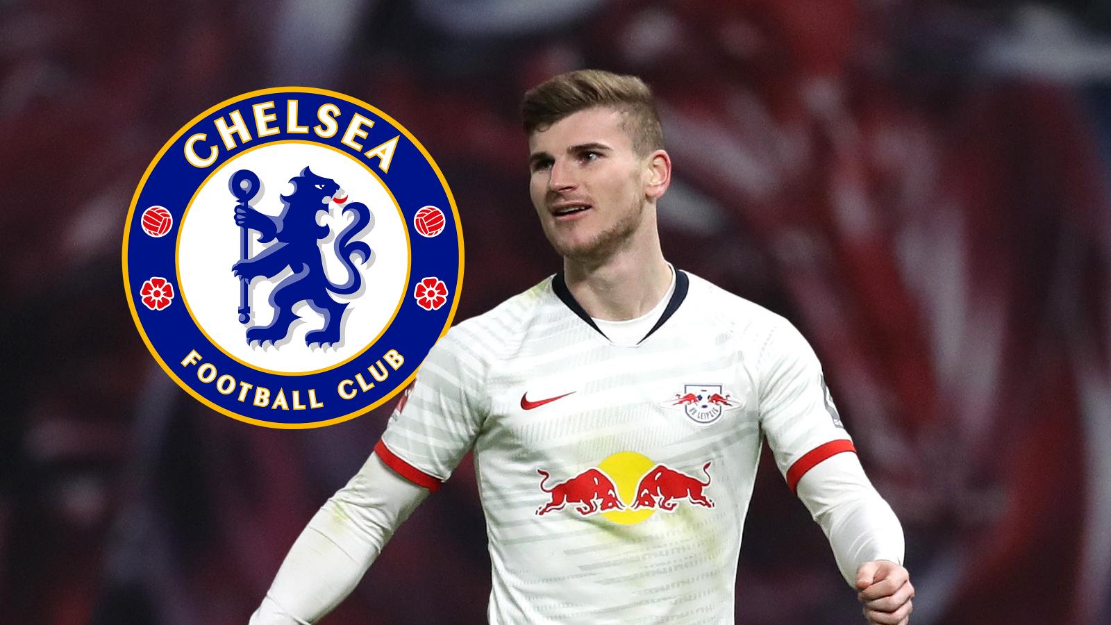Chelsea complete signing of RB Leipzig striker, Timo Werner, All9ja