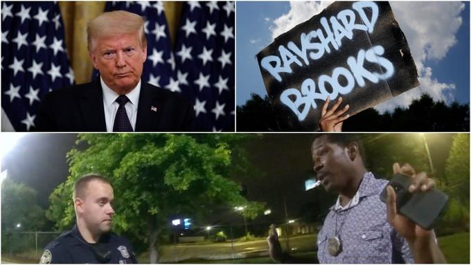 , Rayshard Brooks shooting: Trump says police not being treated fairly, All9ja, All9ja
