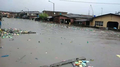 Flood sweeps away 4-year-old child in Lagos, All9ja