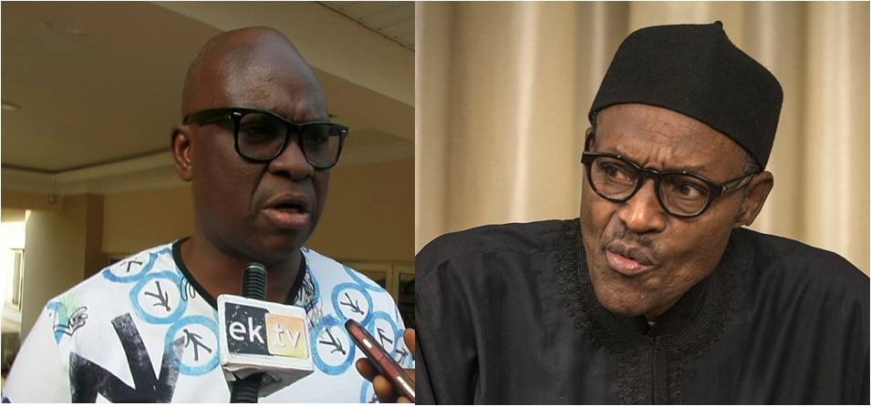 Buhari cannot even manage family, let alone his party and Nigeria Fayose lindaikejisblog