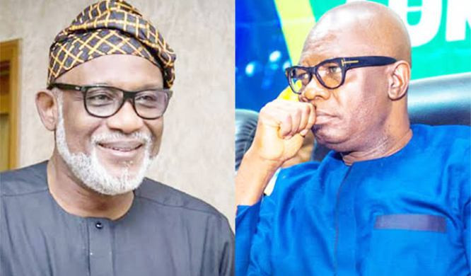 , Governor Akeredolu denies asking the police to stop his Deputy from leaving the state house over alleged plan of dumping APC for PDP, All9ja, All9ja