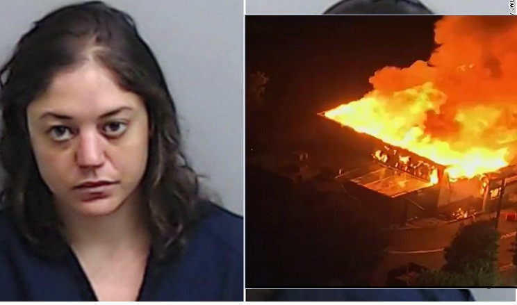 Woman suspected of burning downWendy's fast-foodrestaurant where Rayshard Brooks was killed, has been arrested