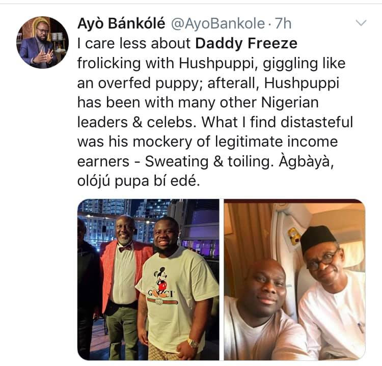 , What I will tell you will make you drink Sniper – Daddy Freeze reacts to being called out for dining with Hushpuppi after criticizing Pastors (videos), All9ja, All9ja