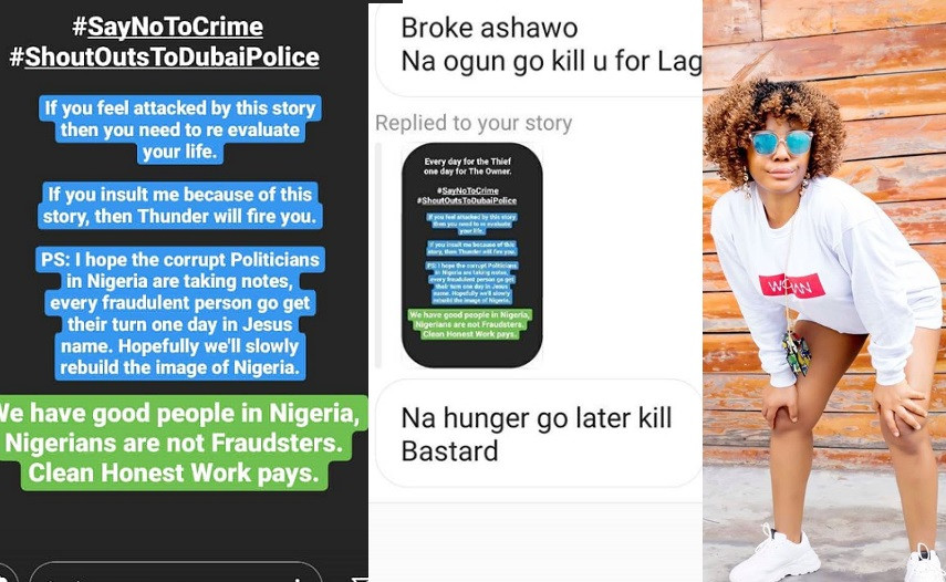 """, They need to flush all of you down the toilet – Ifu Ennada slams yahoo boys apologists who called her an """"ashawo"""" for condemning fraud, All9ja, All9ja"""