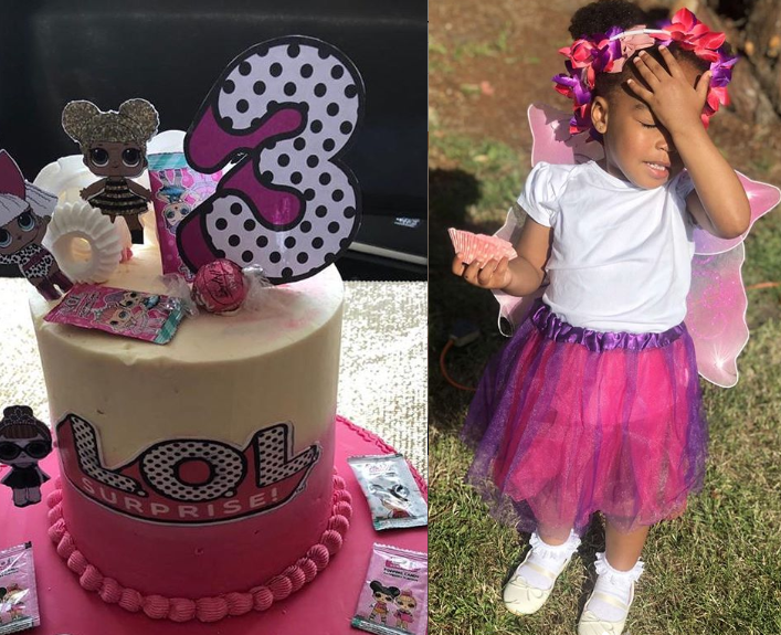 BBNaija star, Venita Akpofure celebrates her beautiful daughter on her 3rd birthday(Photos)