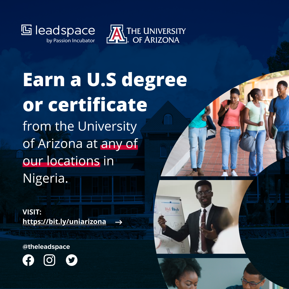 Leadspace and the University of Arizona, USA, Establish Visionary Partnership to Serve Students in Nigeria