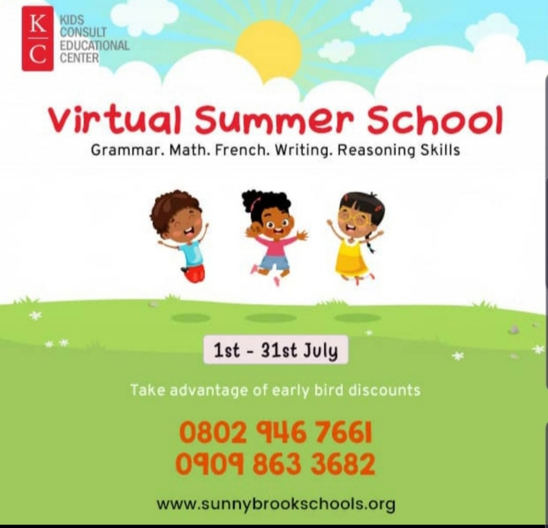 Kids Consult Summer School 2020 is the best online school in Lekki