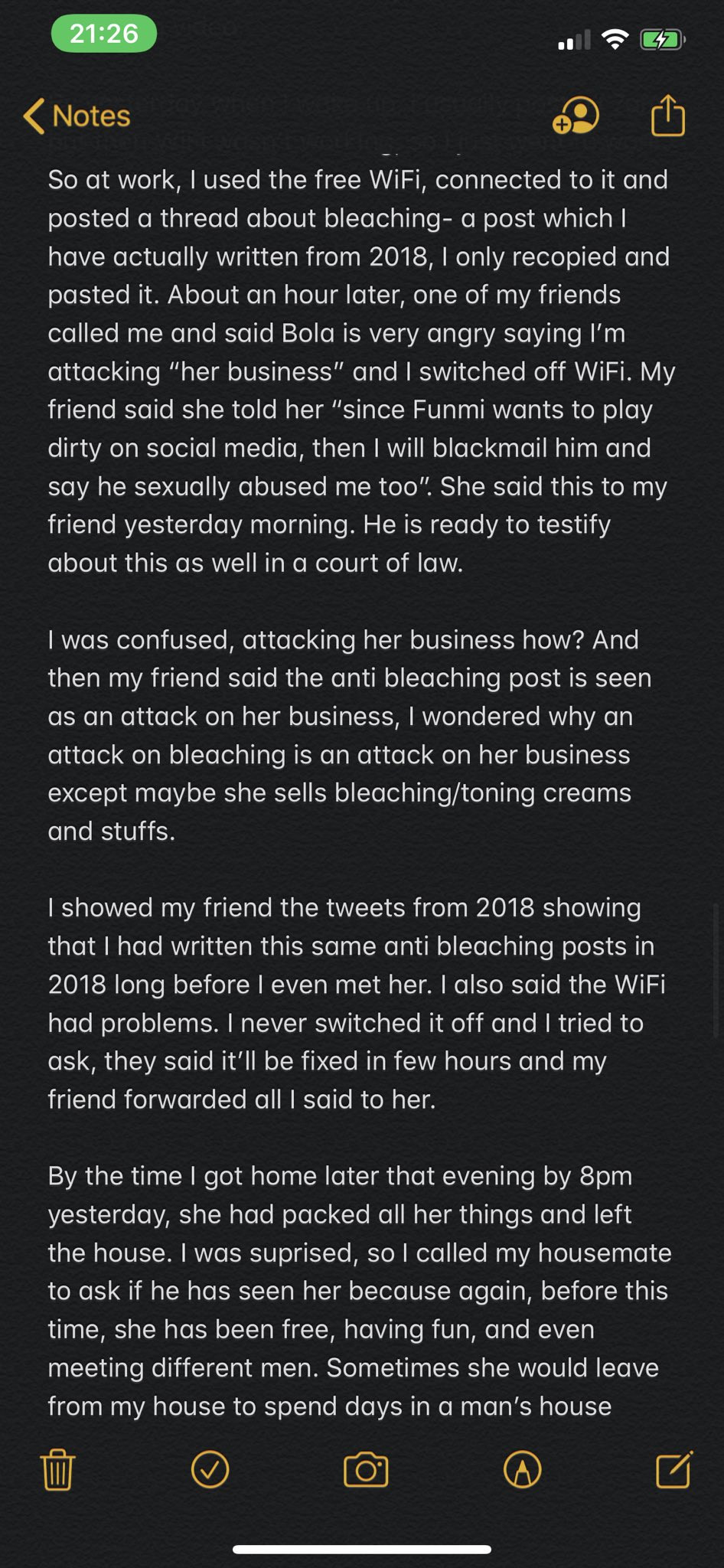 She threatened to blackmail me after traveling from Nigeria to UK to see me - Popular Nigerian doctor and Twitter influencer reacts to sexual abuse allegation lindaikejisblog 9