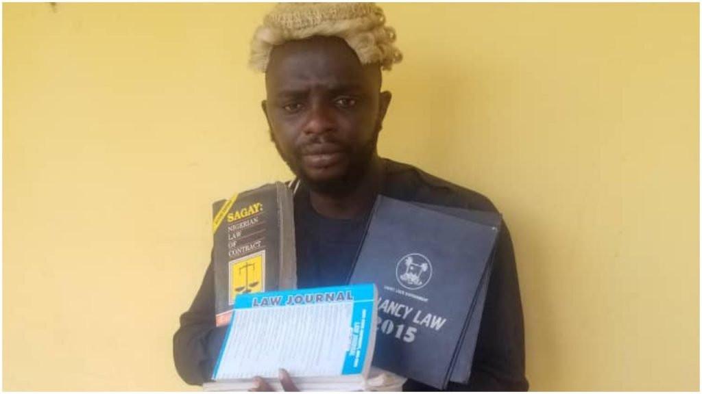 I studied law, but didnt graduate Suspected fake lawyer confesses after being arrested in Ogun lindaikejisblog