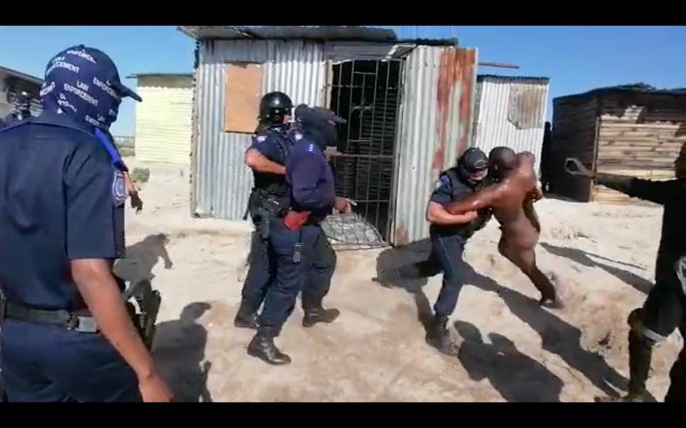 City of Cape Town to suspend officers who dragged naked man from bath lindaikejisblog