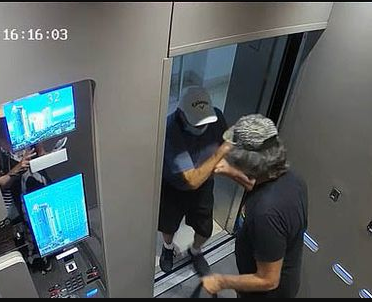 Man arrested for pushing 86-year-old out of lift 'to protect him and wife against Coronavirus'