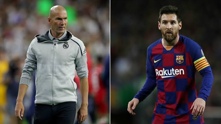 Zinedine Zidane was asked about transfer rumors that Lionel Messi could leave Barcelona after this season. Read his response