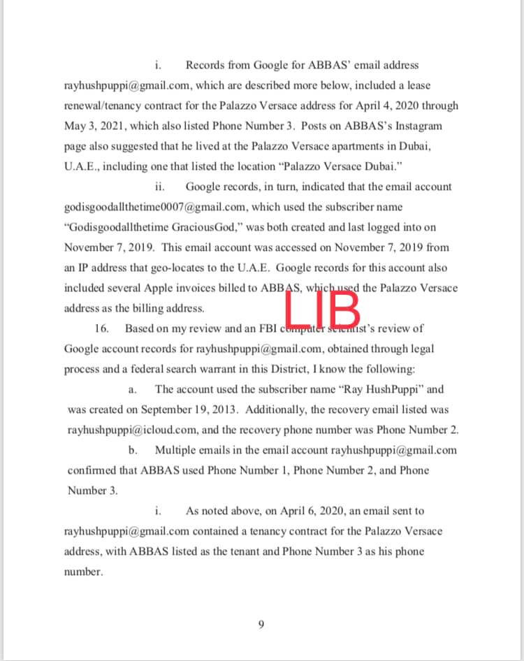 Hushpuppi and co-conspirators accused of stealing over $16m. See charge sheet which captured detailed conversation with his alleged gang members after each hit lindaikejisblog 11