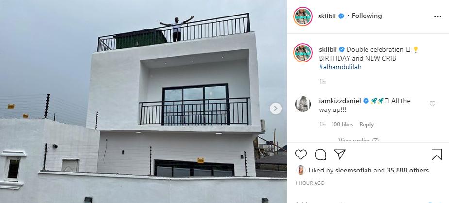 Skiibii buys a new house for his birthday lindaikejisblog 1