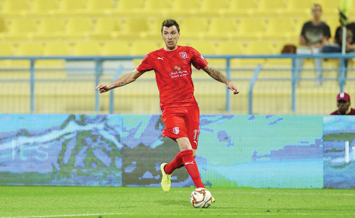 Former Juventus striker, Mario Mandzukic terminates his contract at Qatari club Al-Duhail just six months after arriving in the Middle East, All9ja