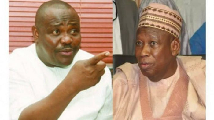 A man who stuffs dollars from contractors in his babariga wants to isolate me - Wike slams Ganduje lindaikejisblog