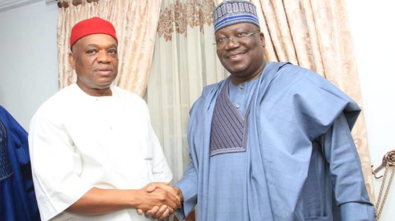 Why we refused to declare Orji Kalus seat vacant Senate President Ahmad Lawan lindaikejisblog