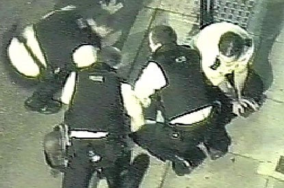 2006 video of Nigerian man shouting 'I can't take breathe' after British officers knelt on him, leads to an inquest 14 years after his death lindaikejisblog