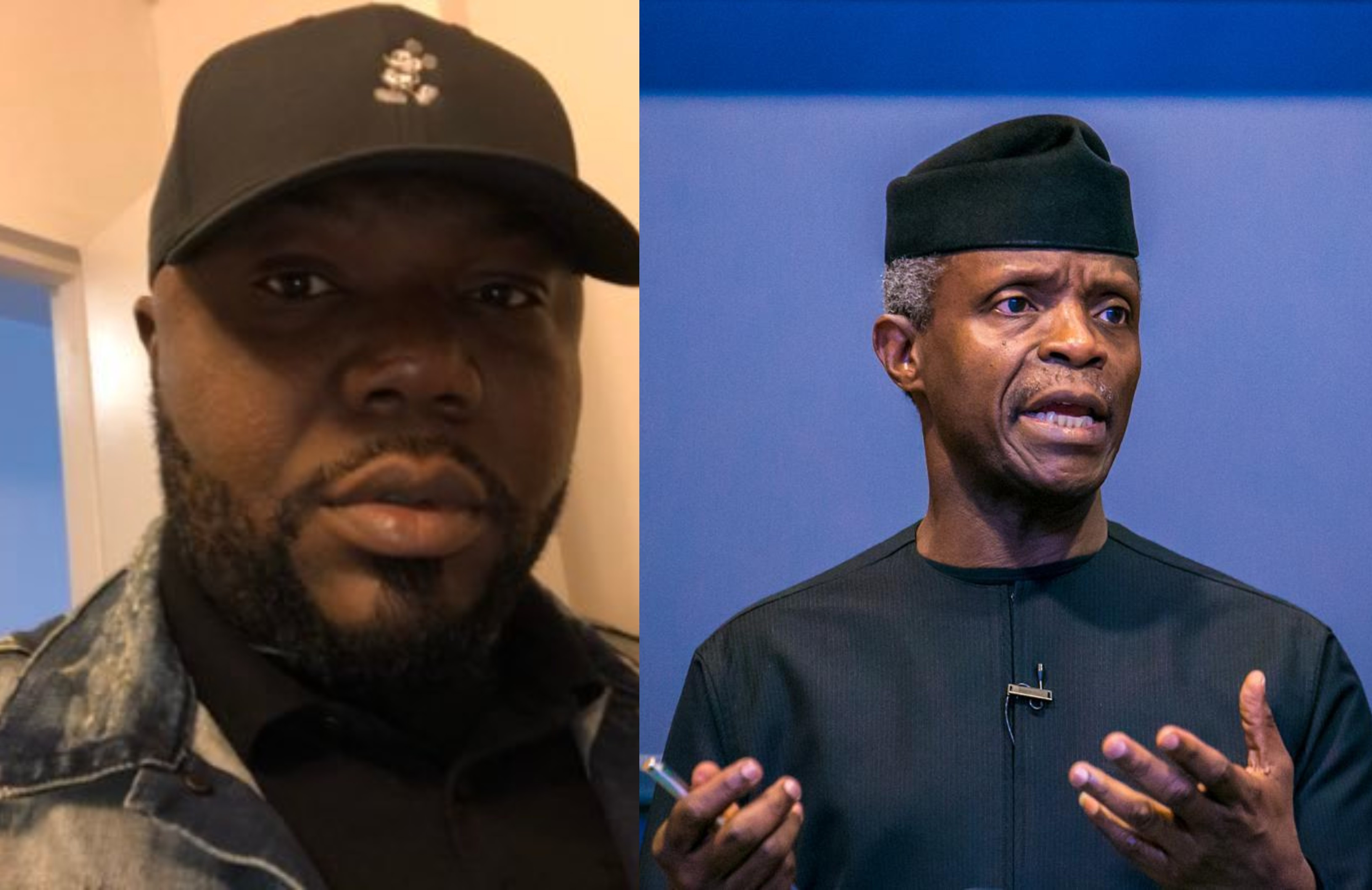 If Osinbajo wants to go to court, he needs to resign first and sue me - Jackson Ude reacts to Vice President's lawsuit lindaikejisblog
