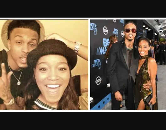 Keke Palmer responds to August Alsina after she got entangled in aTwitterfeud with the singer afterJada Pinkett confirmedtheiraffair