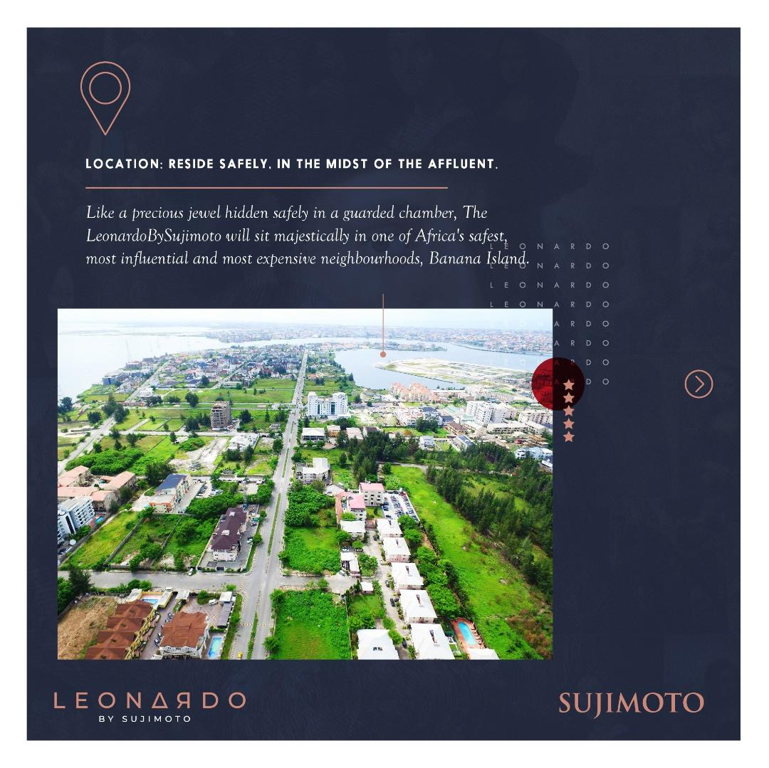 With Just N60million Naira: 3 Fundamental Reasons Why You Should Buy Into The LeonardoBySujimoto