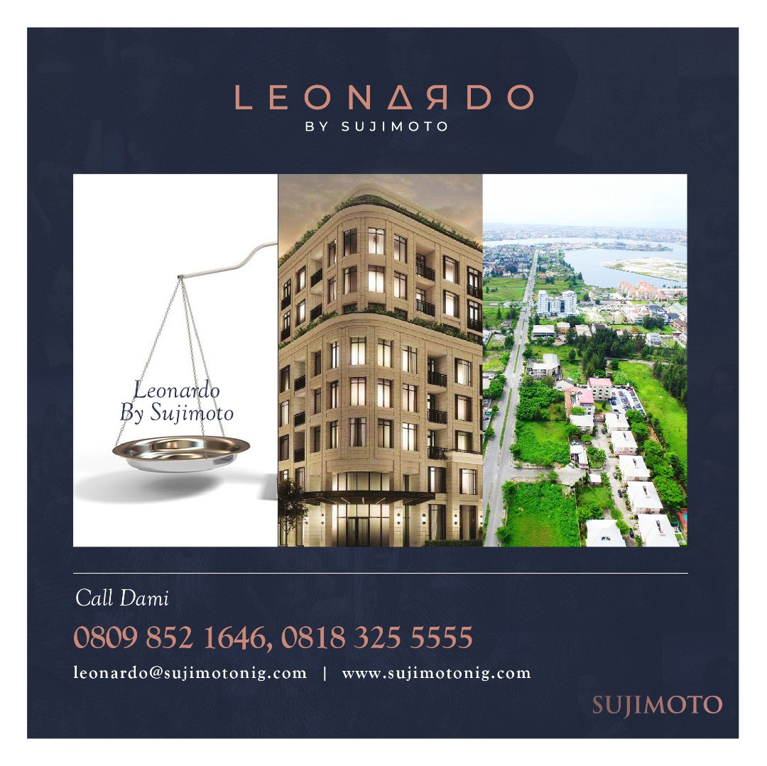 With Just N60million Naira: 3 Fundamental Reasons Why You Should Buy Into The LeonardoBySujimoto lindaikejisblog4