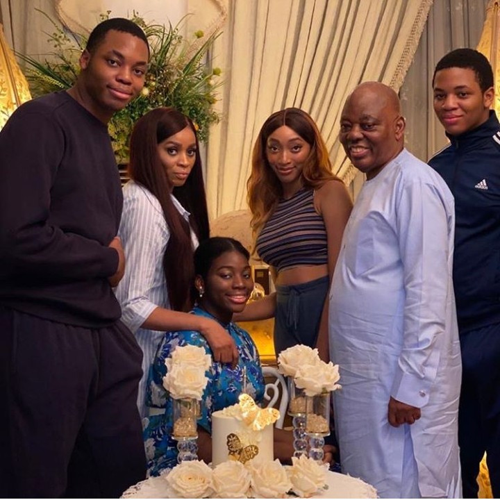 New photos and video of Razaq and Shade Okoya's family as they celebrate their daughter who was made Head Girl of her school lindaikejisblog