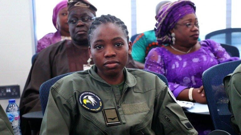 Nigerian Air forces first female combatant helicopter pilot dies eight months after special recognition lindaikejisblog 2