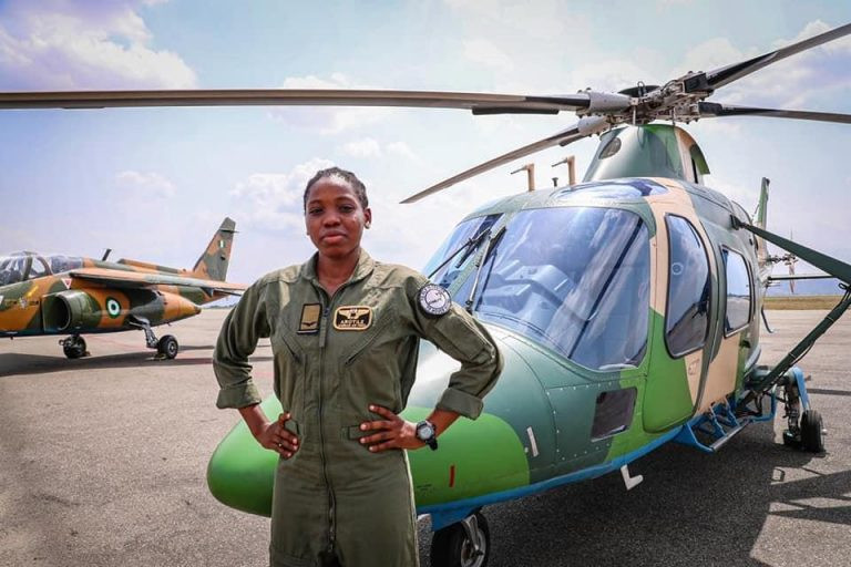 Nigerian Air forces first female combatant helicopter pilot dies eight months after special recognition lindaikejisblog 1