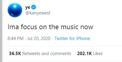 Kanye West rants on Twitter, calls out Kim Kardashian and Kris Jenner lindaikejisblog 4
