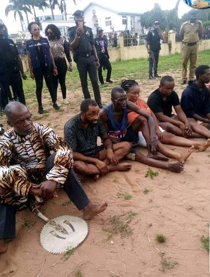 King, his cousin, a pastor and others arrested for kidnapping in Imo state lindaikejisblog2