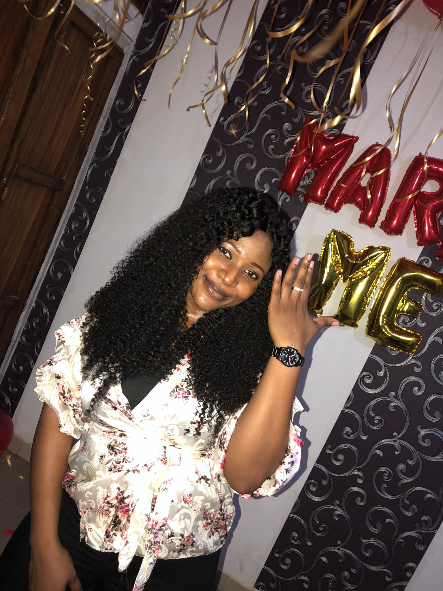 Nigerian couple are engaged after meeting on Twitter 2 years ago lindaikejisblog 3
