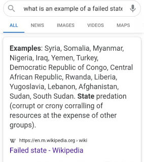 Nigeria added to Wikipedia's list of failed states lindaikejisblog 2
