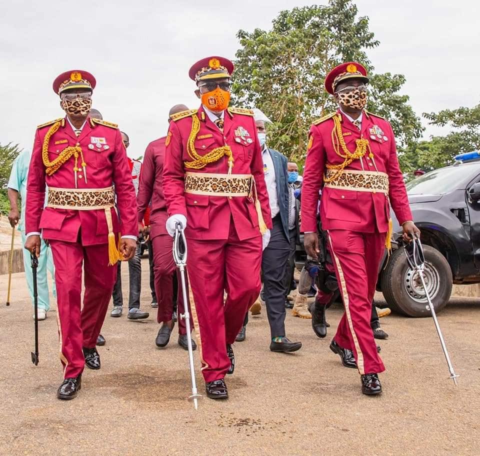 Governor Akeredolu inaugurates Amotekun lindaikejisblog 4