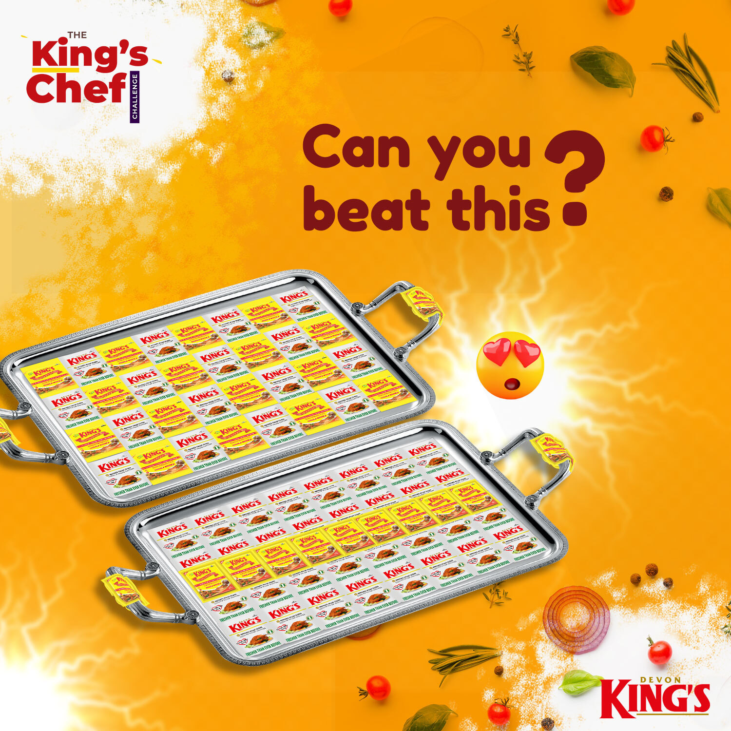 Up to 1 million naira worth prizes up for grabs in the Devon Kings #TheKingsChef challenge lindaikejisblog