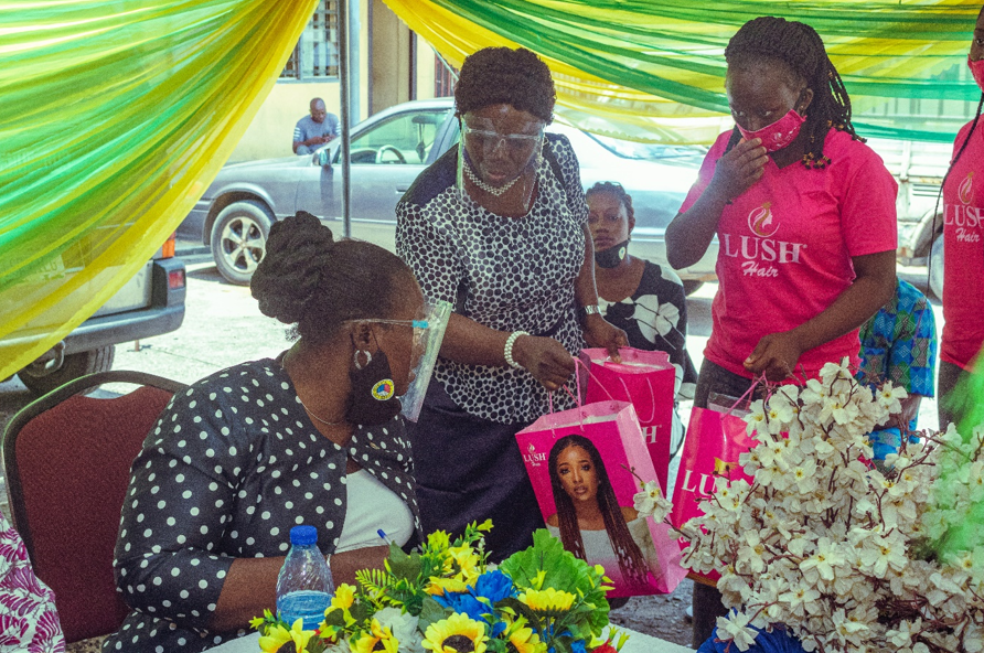 Lush Hair Participates in Lagos State LCDAs Women Assembly Program lindaikejisblog4